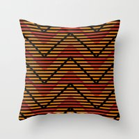 Myth Syzer - Neon (Pattern #5) Throw Pillow