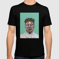 Mick Jenkins Mens Fitted Tee Black SMALL