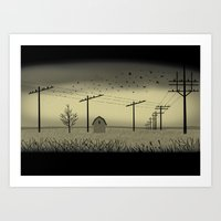 The Cornfield Art Print