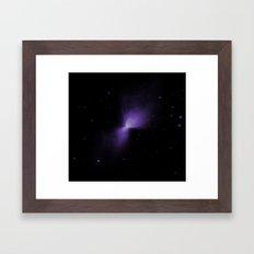 Mysterious Nebula Framed Art Print