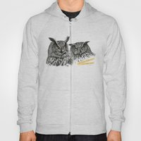 Two OWLs  G2010-11 Hoody