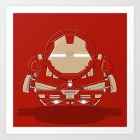 ChibizPop: Buster Art Print
