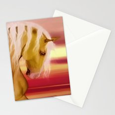 HORSE - Palomino Stationery Cards