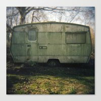 Caravan Canvas Print