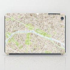 Paris SGB Watercolor Map iPad Case