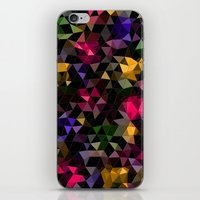 Shatter into color iPhone & iPod Skin