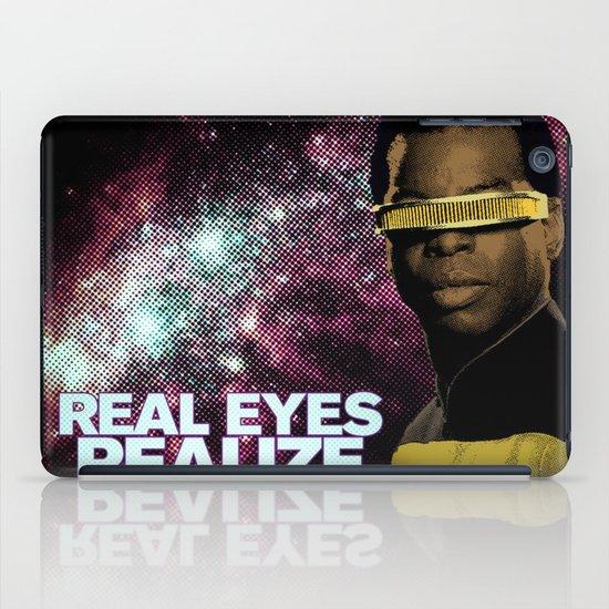 Geordi: Real Eyes Realize iPad Case
