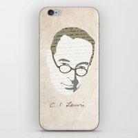 C.S. Lewis iPhone & iPod Skin