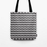 B&W pattern Tote Bag
