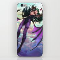 iPhone & iPod Skin featuring Morrigan by Artgerm™