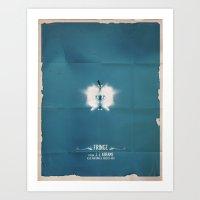 FRINGE Art Print