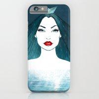 Rainy girl iPhone 6 Slim Case