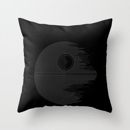 Minimalist Battlestation Throw Pillow