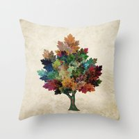 Fall Is Back! Throw Pillow