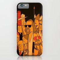 iPhone Cases featuring The Big Lebowski by Ale Giorgini