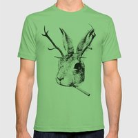 Sargeant Slaughtered Mens Fitted Tee Grass SMALL