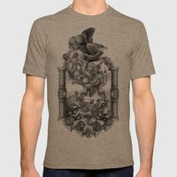 Persephone Mens Fitted Tee Tri-Coffee SMALL