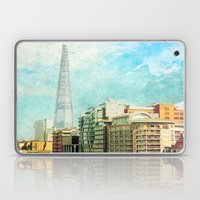 The Shard And The Thames… Laptop & iPad Skin