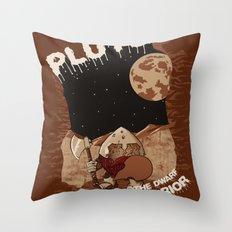 Pluto The Dwarf Planet Throw Pillow