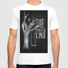 The End Mens Fitted Tee White SMALL