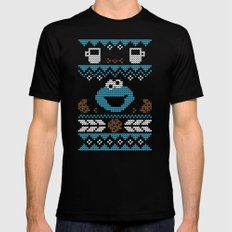 C is for Cookie! Black Mens Fitted Tee SMALL