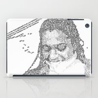Words on the Subject iPad Case