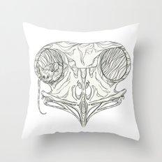 Hiding Place Throw Pillow