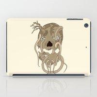 Dead Living by Tree iPad Case