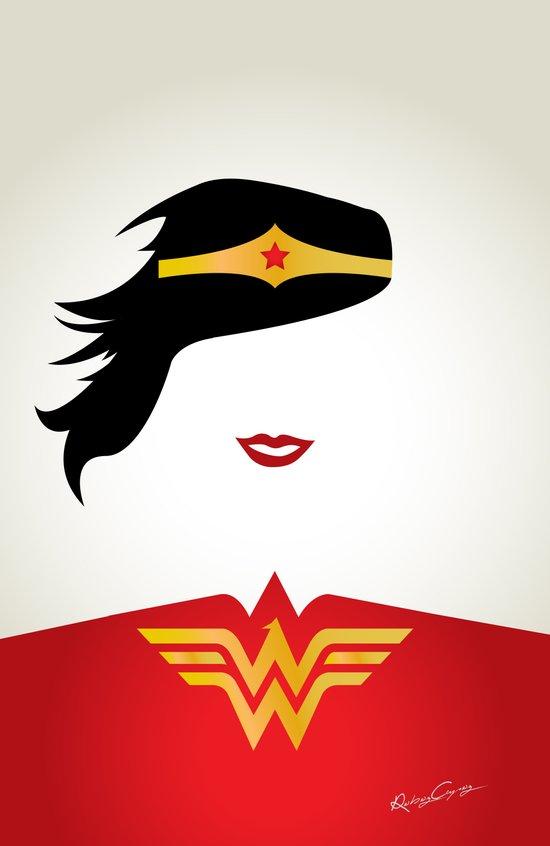 Wonder Girl Art Print
