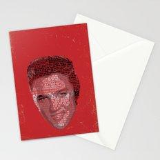 Typographic Icons - Elvis Presley Stationery Cards