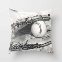 Baseball Throw Pillow