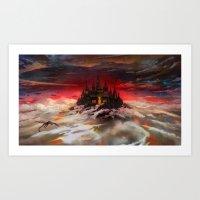 A World  Reborn With Mag… Art Print