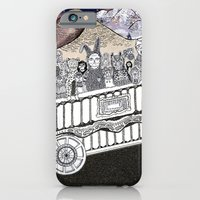 iPhone & iPod Case featuring Animals on a Wagon by Lauren