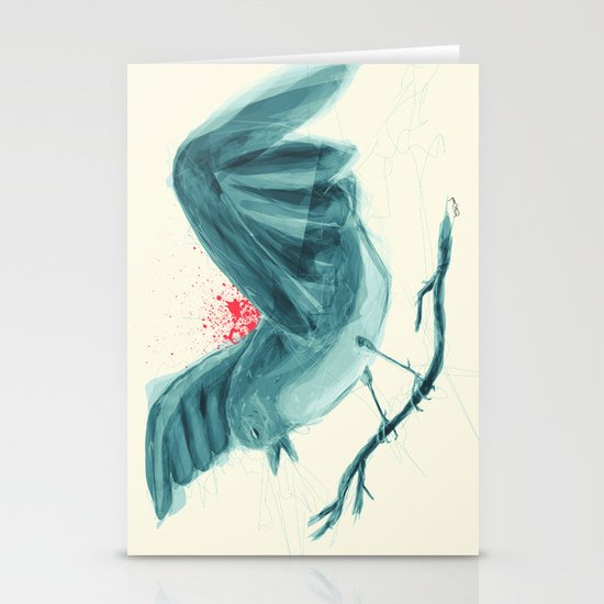 bird Stationery Card