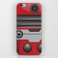 Dalek Red - Doctor Who iPhone & iPod Skin