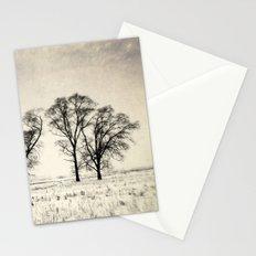 Dark Winter Days Stationery Cards