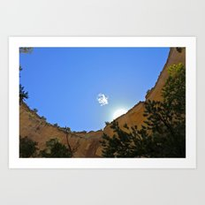 Lonely Cloud  Art Print