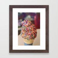 Sprinkled with Joy Framed Art Print