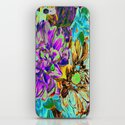 Neon Flower Magic iPhone & iPod Skin