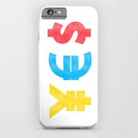 iPhone Cases featuring Money Money Money by Budi Kwan