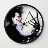 Edward Scissorhands: The… Wall Clock