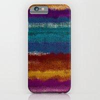 Knit stripes iPhone 6 Slim Case