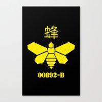 Heisenberg - Breaking Ba… Canvas Print