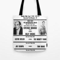 #12 Memphis Wrestling Wi… Tote Bag