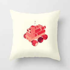 Red 2 Throw Pillow