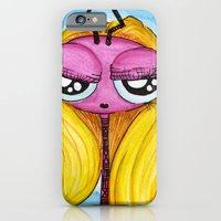 iPhone & iPod Case featuring Too Cool For You Aliem by Tyler Resty
