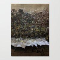 Dienstags Basar in İstanbul Canvas Print