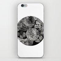 Drawing 2 White iPhone & iPod Skin