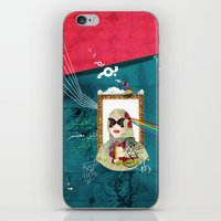 Bal Masque iPhone & iPod Skin