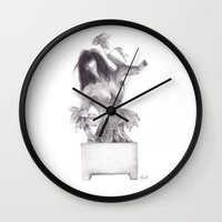 Sleeping Forest Wall Clock